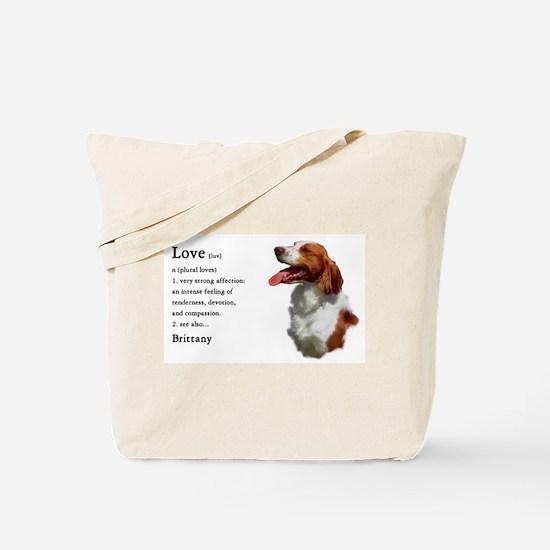 American Brittany Spaniel Tote Bag