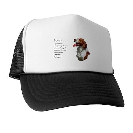 American Brittany Spaniel Trucker Hat