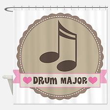 Drum Major gift Shower Curtain