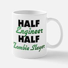 Half Engineer Half Zombie Slayer Mugs