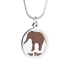 Elephant Never Forget Dinosaur Necklaces