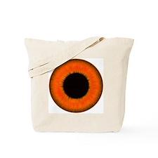 Halloween Orange Eye Tote Bag