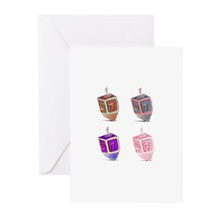 Dreidel Greeting Cards (Pk of 10)