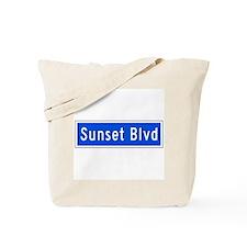 Sunset Blvd., Los Angeles - USA Tote Bag