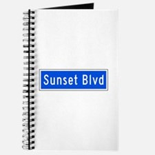 Sunset Blvd., Los Angeles - USA Journal