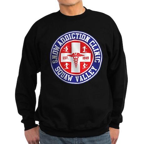 Squaw Valley Snow Addiction Clinic Sweatshirt (dar