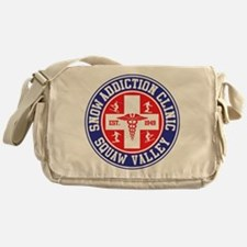 Squaw Valley Snow Addiction Clinic Messenger Bag