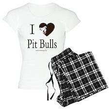 I Heart Pit Bulls Pajamas