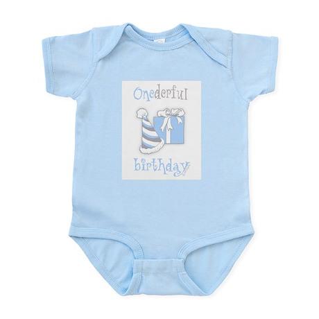 Onederful Birthday Party (boy) Infant Bodysuit
