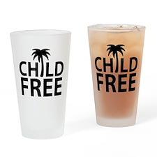 Childfree Drinking Glass
