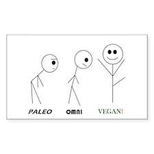 Paleo, Omni, Vegan Decal