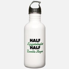 Half Egyptologist Half Zombie Slayer Water Bottle