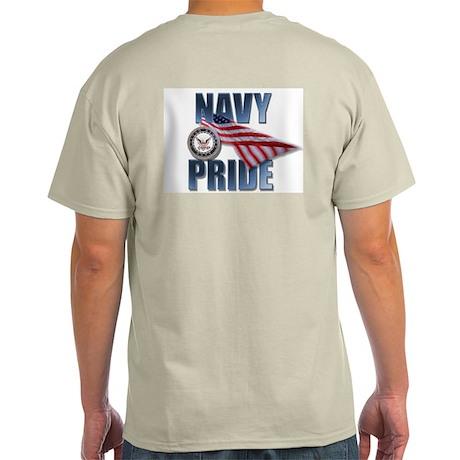 USN Navy Pride Ash Grey T-Shirt