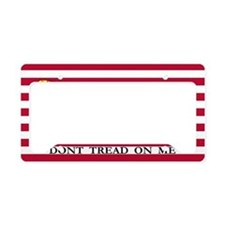 Official Tea Party Flag License Plate Holder
