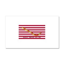 Official Tea Party Flag Car Magnet 20 x 12