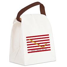 Official Tea Party Flag Canvas Lunch Bag