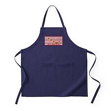Official Tea Party Flag Apron (dark)