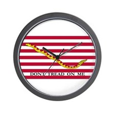 Official Tea Party Flag Wall Clock