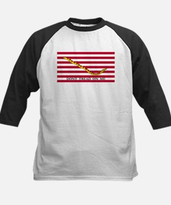 Official Tea Party Flag Baseball Jersey