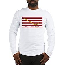 Official Tea Party Flag Long Sleeve T-Shirt