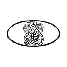 Arab Calligraphy Pear Patches