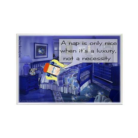 Nap Comic Strip Rectangle Magnet (10 pack)