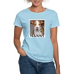 Manny Women's Pink T-Shirt