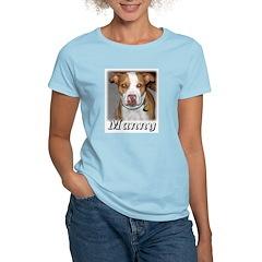 Manny2 Women's Pink T-Shirt