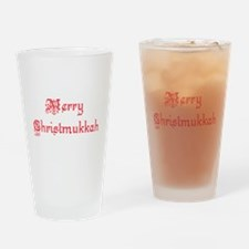 merrychristmukkah1.png Drinking Glass