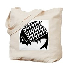 AbOriginalzc Mimbres Fish Tote Bag