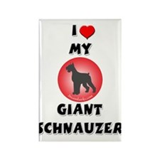 Giant Schnauzer Rectangle Magnet (100 pack)