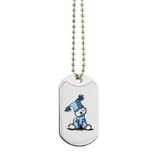 Sack Hat Westie Dog Tags