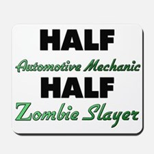 Half Automotive Mechanic Half Zombie Slayer Mousep