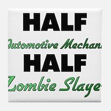 Half Automotive Mechanic Half Zombie Slayer Tile C