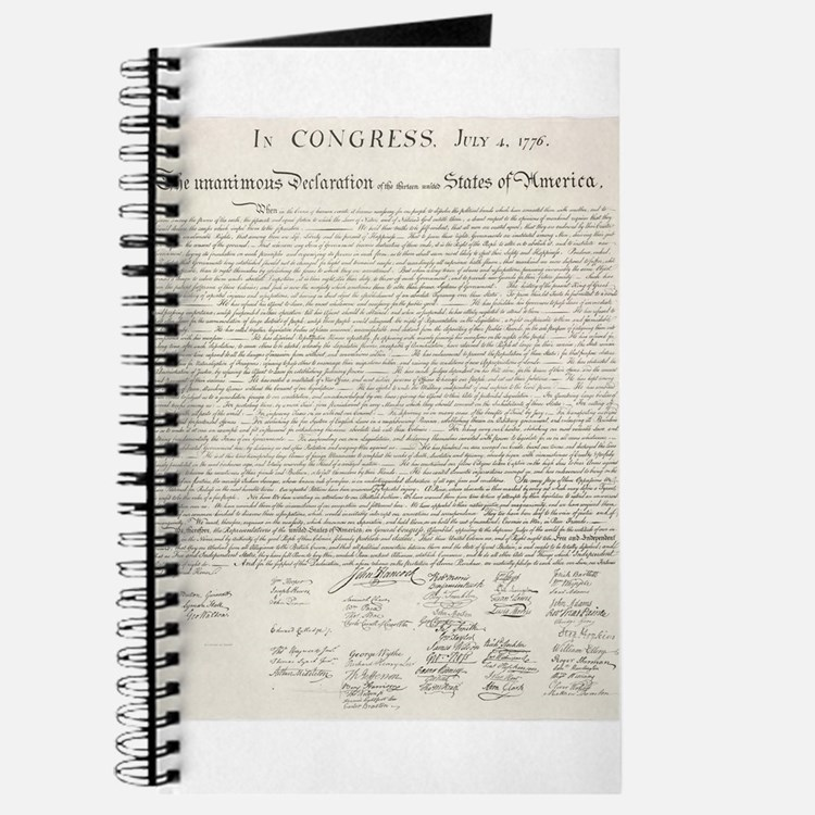 United States Declaration of Independence Journal