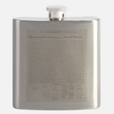 United States Declaration of Independence Flask
