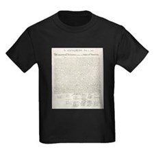 United States Declaration of Independence T-Shirt