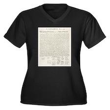 United States Declaration of Independence Plus Siz