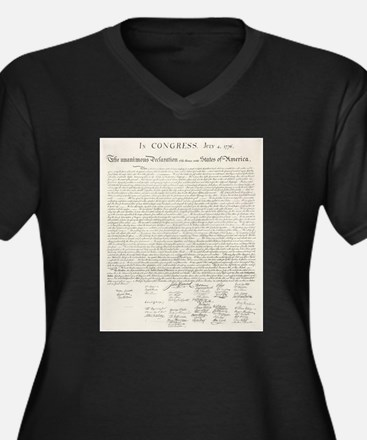 United States Declaration of Independence Plus Siz