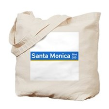 Santa Monica Blvd., Los Angeles - USA Tote Bag