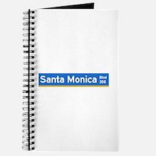 Santa Monica Blvd., Los Angeles - USA Journal