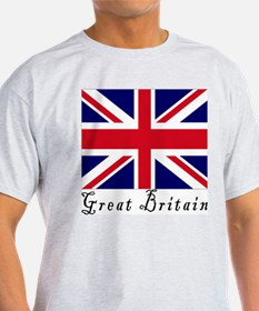 Great Britain Ash Grey T-Shirt