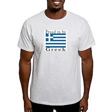 Greece Ash Grey T-Shirt