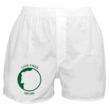 Live Free Boxer Shorts