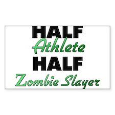 Half Athlete Half Zombie Slayer Decal