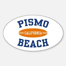Pismo Beach California Oval Decal