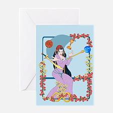 The Tarot Magician Greeting Cards