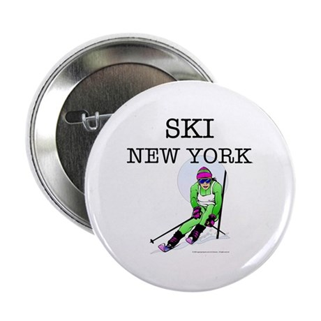 """TOP Ski New York 2.25"""" Button (100 pack)"""