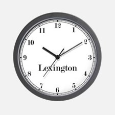 Lexington Classic Newsroom Wall Clock