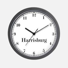 Harrisburg Classic Newsroom Wall Clock